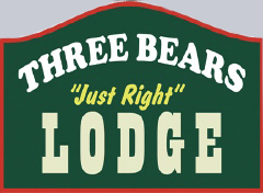 Logo for Three Bears Lodge Red River NM